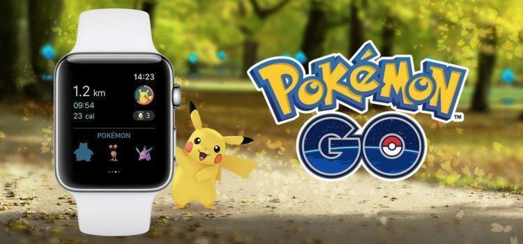 Pokemon Go will not be available for Apple Watch from 1st July 2019