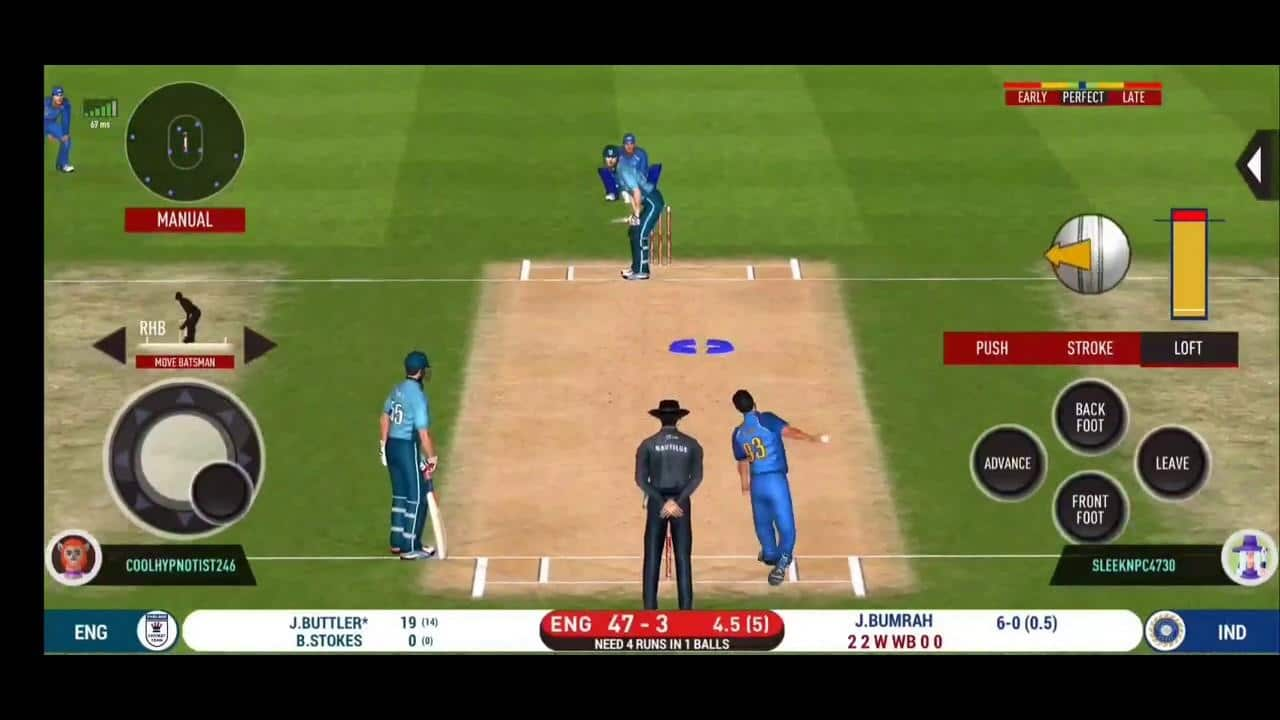 List of different Upcoming cricket games for android 2021-22
